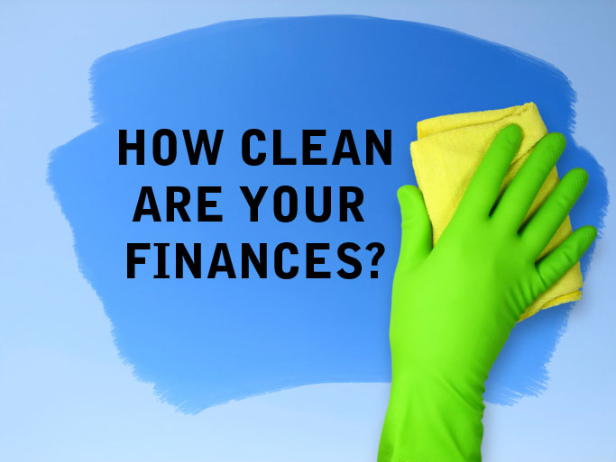 Spring is the perfect time to clean out your financial clutter.