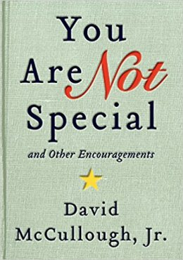 books you are not special